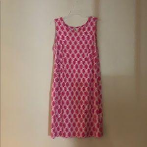 JM Collection Woman 1X Pink Sleeveless Dress